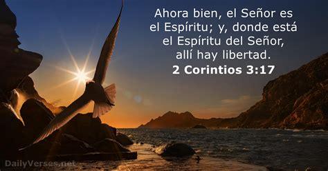 2 Corintios 3   Versos biblicos