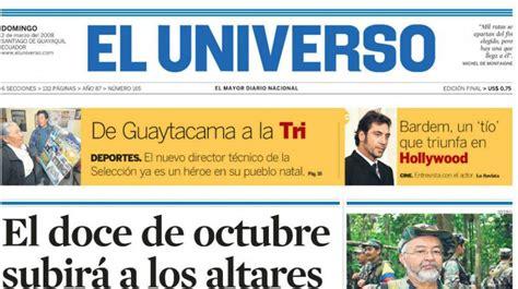 2 de marzo del 2008: Raúl Reyes fue abatido por Colombia ...