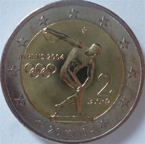 2 euro commemorativo Grecia 2004   Collezioni degli utenti ...