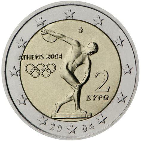 2 euro Grecia 2004 Olimpiadi di Atene Grecia   Euro ...