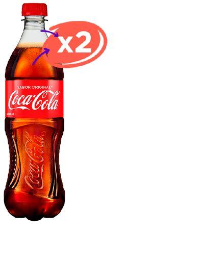 2 Pack Refresco Coca Cola 600 Ml en 711 express_noche ...
