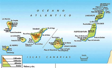 2. PHYSICAL ASPECTS OF THE BALEARIC AND CANARY ISLANDS ...