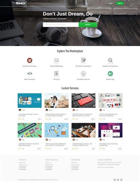 2 Temas de WordPress para hacer un Clon de Fiverr | Tema ...