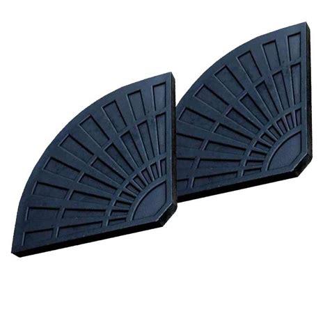 2 x Ellister Parasol Base Sections   13.5kg each on Sale