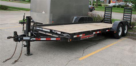 20 , 12k lbs. Tandem Axle Flatbed Trailer Rental: Cedar Rapids
