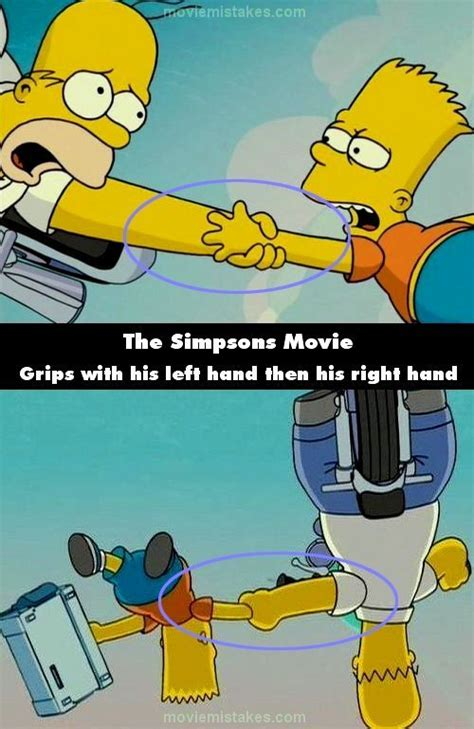 20 Biggest Mistakes In The Simpsons Movie   The Simpsons ...
