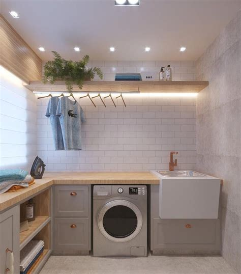 20 Brilliant Laundry Room Ideas for Small Spaces ...