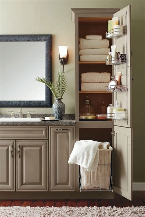 20 Clever Designs of Bathroom Linen Cabinets | Home Design ...