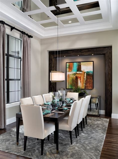 20 Dining tables ideas and modern dining room designs