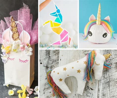 20 Easy Magical Unicorn Crafts | The Crafty Blog Stalker