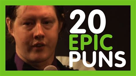 20 Epic Puns by Luke Benson at Pun Run   ComComedy   YouTube