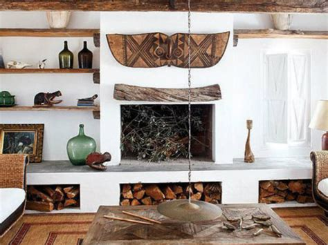 20 Fotos con ideas de chimeneas rústicas para tu salón ...