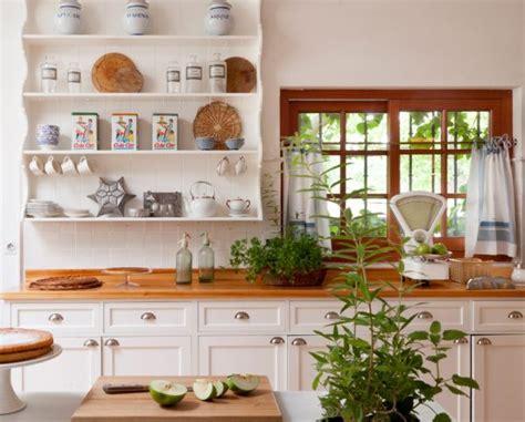 20 Fotos de Cocinas en blanco y madera luminosas y bonitas ...