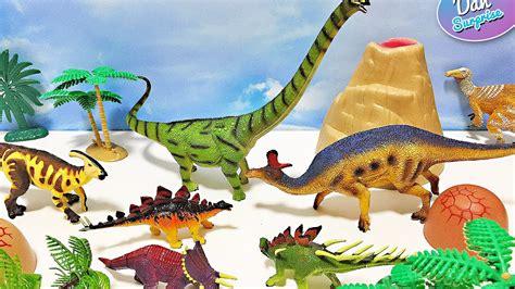 20 HERBIVOROUS DINOSAURS SURPRISE TOYS   Learn Dinosaur ...