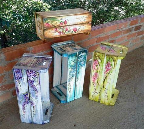 20 ideas para decorar cajas de madera con diversas ...