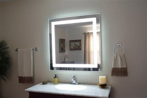 20 Inspirations Bathroom Wall Mirrors With Lights | Mirror ...