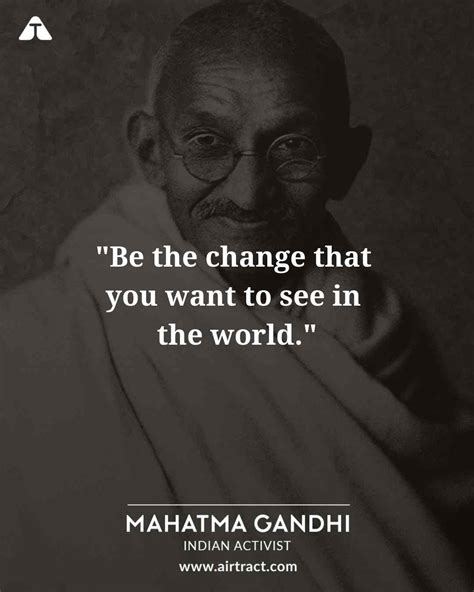 20 Inspiring Mahatma Gandhi Quotes On Peace, Courage, And ...