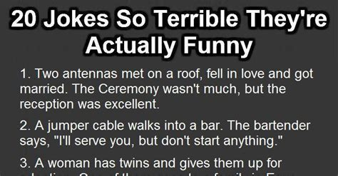 20 Jokes So Terrible They re Actually Funny. | funny ...