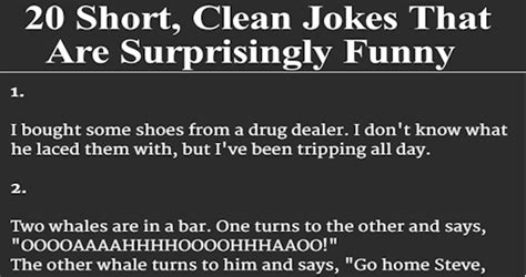 20 Short, Clean Jokes That Are Surprisingly Funny ...