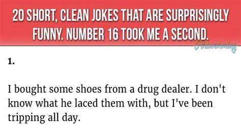 20 Short, Clean Jokes That Are Surprisingly Hilarious