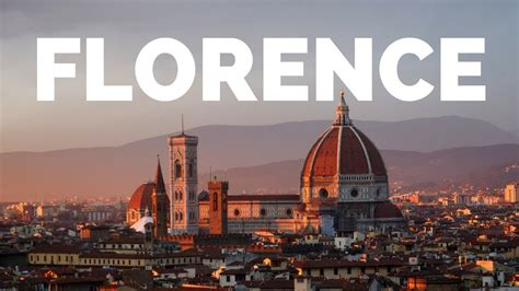 20 Things to do in Florence, Italy Travel Guide   YouTube