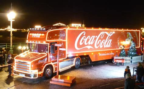 20 years of the Coca Cola Christmas truck
