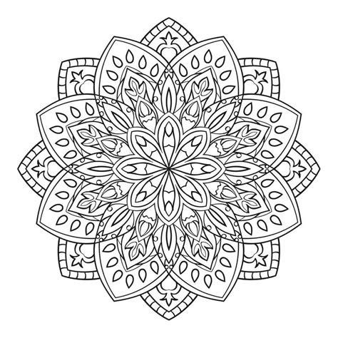 200 Mandalas Para Colorear Imprimibles Libro Digital  pdf ...