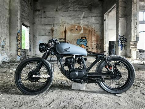 2000 Honda CG 125 Cafe Racer Modification Ideas