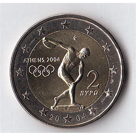 2004   2 euro GRECIA Olimpiade Atene  2004   2 euro GRECIA ...