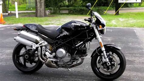 2007 Ducati Monster S2R 1000 Black at Euro Cycles of Tampa ...