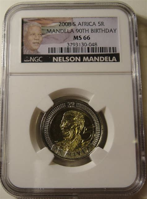 2008 Birthday R5   2008 Nelson Mandela 90th Birthday R5 ...
