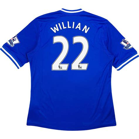 2013 14 Chelsea Home Shirt Willian #22 *w/Tags* S ...