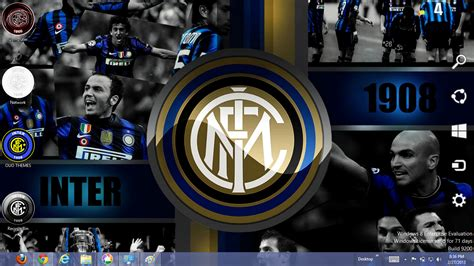 2013 Inter Milan Fc Windows 7 And 8 Theme | Ouo Themes