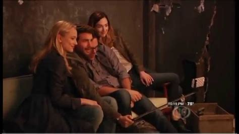 2015 Cast Interviews for the CBS Series Zoo w/Billy Burke ...