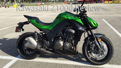 2015 Kawasaki Z1000 Motorcycle Review   YouTube