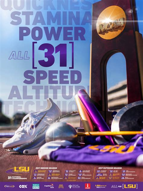 2016 17 LSU Athletics Posters   LSUsports.net   The ...