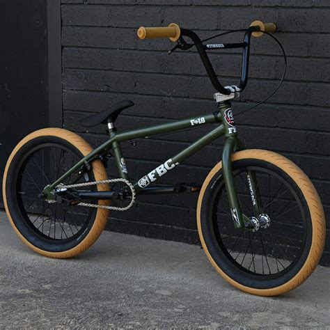 2016 FIT BIKE CO 18  MATTE GREEN BMX BICYCLE HARO CULT ...