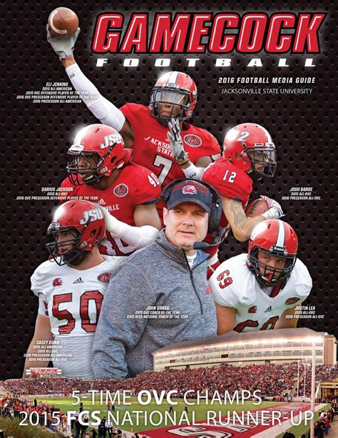 2016 Jacksonville State Football Media Guide by ...