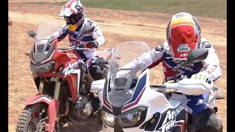 2016 new Honda CRF1000L Africa Twin tested by Marc Marquez ...