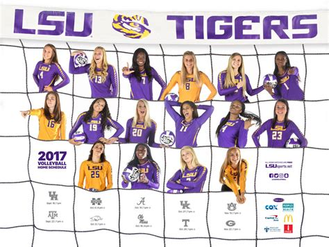 2017 18 LSU Athletics Posters   LSUsports.net   The ...