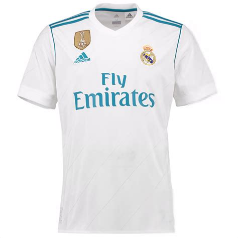2017 18 Real Madrid Home Shirt   Youth   Your Jersey