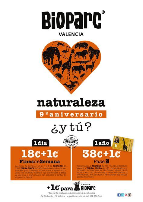 2017. BIOPARC Valencia celebra su 9º aniversario en ...