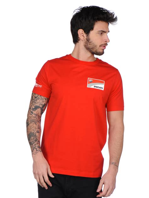 2017 Ducati Corse Official Team Men s T Shirt in Red ...