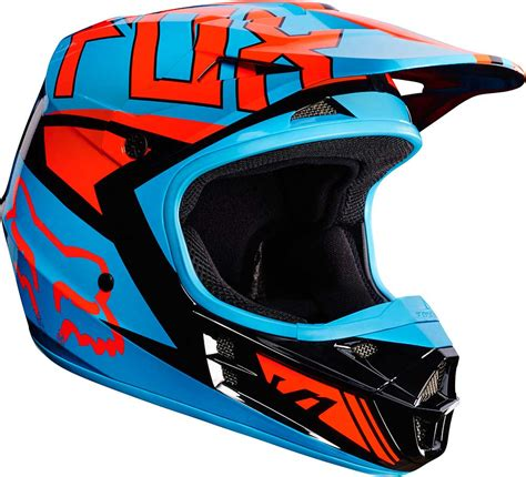 2017 Fox Racing V1 Falcon Helmet   MX Motocross Off Road ...