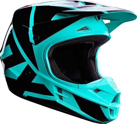 2017 Fox Racing V1 Race Helmet   MX Motocross Off Road ATV ...