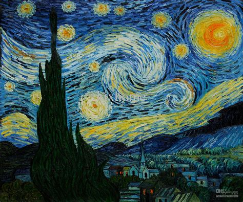 2017 Gift ! Vincent Van Gogh Oil Painting Reproduction ...