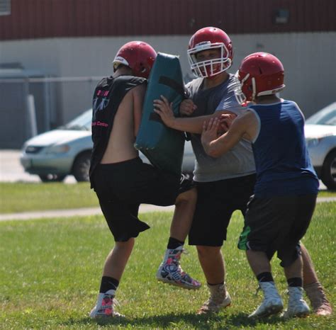 2017 Hillsboro Football Two A Days   The Highland County Press