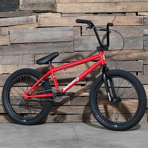 2017 SUNDAY BIKE BMX BLUEPRINT 20  RED BICYCLE FIT CULT ...