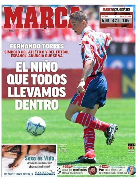 2018 04 10 Portada de Marca  España  | Futbol atletico de ...