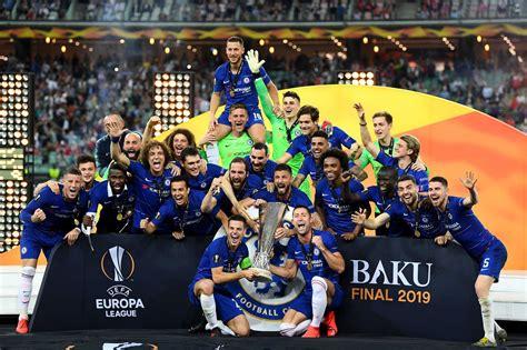 2018/19 EUROPA LEAGUE WINNERS #Chelsea | Europa league ...